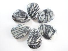 Black Spider Web Jasper Gemstones
