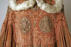 Opera coat (image 3 - detail) | Callot Soeurs | French | 1907 | silk, metal, feathers | Metropolitan Museum of Art | Accession Number: 1984.167