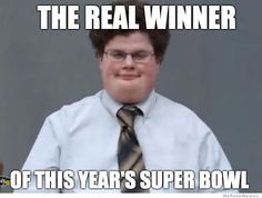 The real winner of this year's super bowl