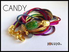 Pulsera Candy. www.jolujo.es