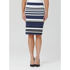 Mela Purdie Mid Double Skirt - Resort Stripe This soft double tube skirt is one of our best-selling styles. Cut for a close fit and featuring a comfortable elastic waist, balance yours with a loose knit or soft tailored shirt for a flattering silhouette.  #melapurdie  #redworks