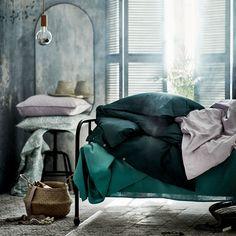 """LINDBYN Mirror, black, 23 5/8x47 1/4"""" - IKEA"""