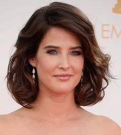 Top 50 Bob Hairstyles for Women: Cobie Smulders #bobhair #shorthairstyles #hairstyles