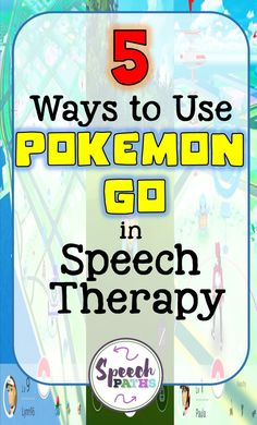 Are you looking for fun activities to motivate middle school students in speech therapy? Engage students with these activities using the latest Pokemon craze! #speechtherapy #pokemongo