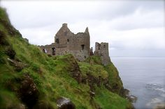 North coast, Northern Ireland-- My favorite castle that I've been to :)