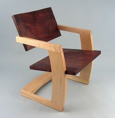 Solid-wood furniture by Jared Rusten