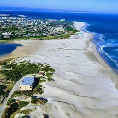 Aerial view from the beach at Paradise Beach towards Aston Bay and the Marina Martinique in the background Aerial View, South Africa, Catering, Palm, Paradise, Beach, Water, Outdoor, Gripe Water