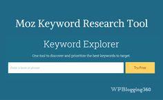 Moz Keyword Explorer (KWE) - New SEO Keyword Research Tool