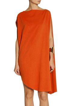 937d6f8b669 Calvin Klein Collection - Tamara draped piqué mini dress
