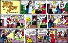 Busted! | Read Mutt & Jeff #comics @ www.gocomics.com/muttandjeff/2014/12/21?utm_source=pinterest&utm_medium=socialmarketing&utm_campaign=social-pin | #GoComics #webcomic #Christmas