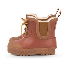 Konges Slojd - Buty Thermo Choco Bean brązowe - 1 Snow Boots, Rain Boots, Baby In Snow, Scandi Style, Natural Rubber, Kids Boots, Rainy Days, Timberland Boots, Layering