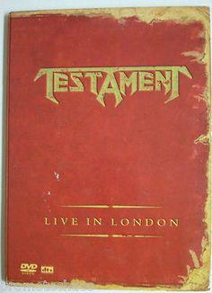 Testament Live in London DVD heavy thrash metal slayer anthrax metallica exodus