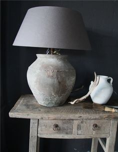 Kruiklamp Grey Lamps, Light Shades, Belgium, Table Lamp, Homes, Lights, My Favorite Things, Country, Room