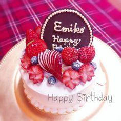 お誕生日ショートケーキ