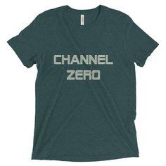 Channel Zero men's short sleeve tri-blend t-shirt emerald