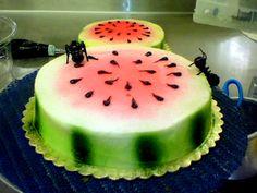 Watermelon Cake Design     Blogcu.com