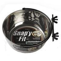 Midwest Snappy Fit Water/Feed Bowls