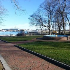 You wouldn't know it's December here at Prescott park #nojacket #portsmouth