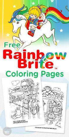Rainbow Brite Is Back And Better Than Ever Find This Pin More On Printable Coloring Pages