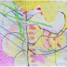 Christine Bush Roman Painting - Divided