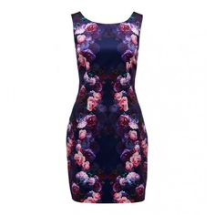Lydia Printed Bodycon Dress- Forever New