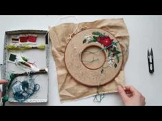 Holiday Wreath Tutorial (2 of 2) - YouTube