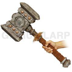 Realista PU espuma guerra martelo para LARP World of Warcraft-imagem-Espadas de brinquedo-ID do produto:60077916472-portuguese.alibaba.com