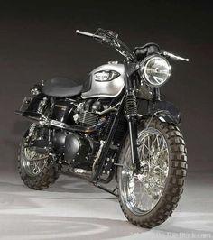 Triumph scrambler #motorcycle #motorbike