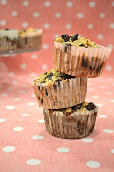 Kiana Bates: Banana Oatmeal Chocolate Chip Muffins!