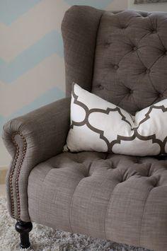 Chair :: looks kind of like my grey chair!