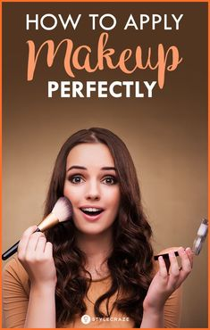 How To Apply Makeup Perfectly On Face? – Step By Step Tutorial How To Apply Makeup Perfectly On Face? – Step By Step Tutorial Makeup Tutorial Step By Step, Makeup Tutorial For Beginners, Make Up Looks, Office Makeup, Make Up Palette, Beauty Hacks For Teens, Make Up Anleitung, Eye Makeup Tips, Makeup Ideas