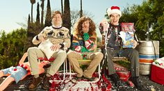 Blastin off my favorite holiday with some Workaholics half Christmas lovin'