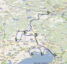 REISE : Perlen des Friaul: Eine genussvolle Cabrio-Tour Dom, Road Trip, Tours, Old Town, Pearls, Travel Destinations, Road Trips