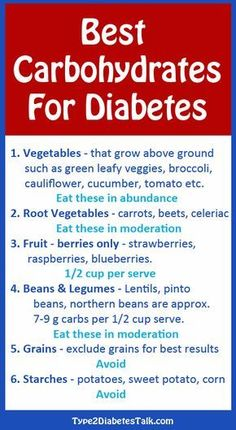 Best carbohydrates for diabetes http://www.diabetesdestroyerbonus.com/obesity-influences-on-diabetes-type-2/