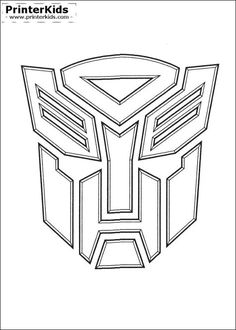 PrinterKids - Transformers - Printable Coloring Page