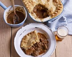 This delicious meat and potato pie recipe is very easy to make, and a good hearty meal to serve for the rest of your family! This pie recipe from the King of baking, Mr Paul Hollywood, is a must-try at home! British Bake Off Recipes, Great British Bake Off, Scottish Recipes, Irish Recipes, Mary Berry, Paul Hollywood Meat And Potato Pie, Good Food Channel, British Baking, Baking Recipes