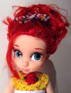 Ariel with eye lashes..cute