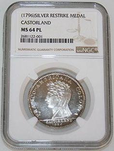 1796 Medal Restrike CASTORLAND None MS-64 NGC PL -- Be sure to check out this awesome product.