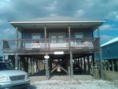 Gulf Shores Alabama Vacation Rentals - The Grape Escape - View of Beach from Front Deck!