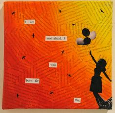 """randomnessofthemind: """" my favorite piece that was in the art gallery. MaKenzie Witter Airling, 2010 Mixed Media """""""