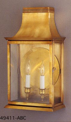The 494 Series Wall Lantern by Genie House - 49411