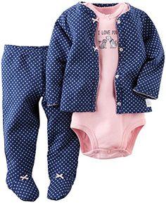 Carter's Baby Girls' 3 Piece Footed Set (Baby) - Navy - 6M Carter's http://www.amazon.com/dp/B00XK036GM/ref=cm_sw_r_pi_dp_28sSwb0H33D2Q