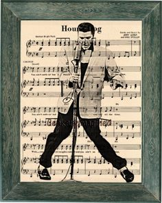 A personal favorite from my Etsy shop https://www.etsy.com/listing/265365407/elvis-presley-art-elvis-presley-music