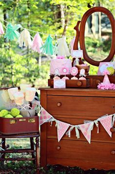 The Little She-Nut Collection by LuLu's. Elephant Birthday or Baby Shower. Full suite available.