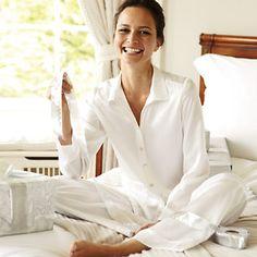 Beautiful silk pyjamas
