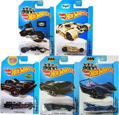 "2015 Hot Wheels RETRO The Dark Knight Rises /""The BAT/"" HOBBY /""K/"" Case Batman"