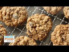 Chewy Oatmeal Raisin Cookies | Everyday Food with Sarah Carey  Video Tutorial on Everyday Food Recipes