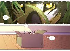 O gato e sua imaginação :http://desmorto.com/o-gato-e-sua-imaginacao/