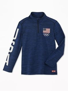 Old Navy Team USA® Performance Pullover for Boys Mens Sweatshirts, Hoodies, Cute Jackets, Shop Old Navy, Team Usa, Maternity Wear, Cute Outfits, Man Shop, Pullover
