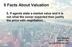 5 facts about valuation #5